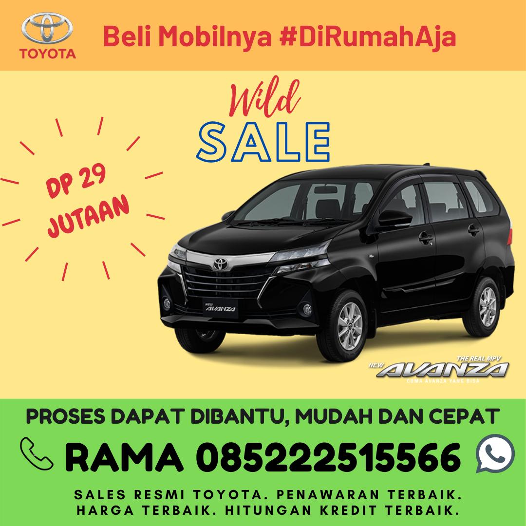 Promo Kredit dan Brosur Toyota Avanza di Lampung Spesial Kartini Days Bulan April 2020