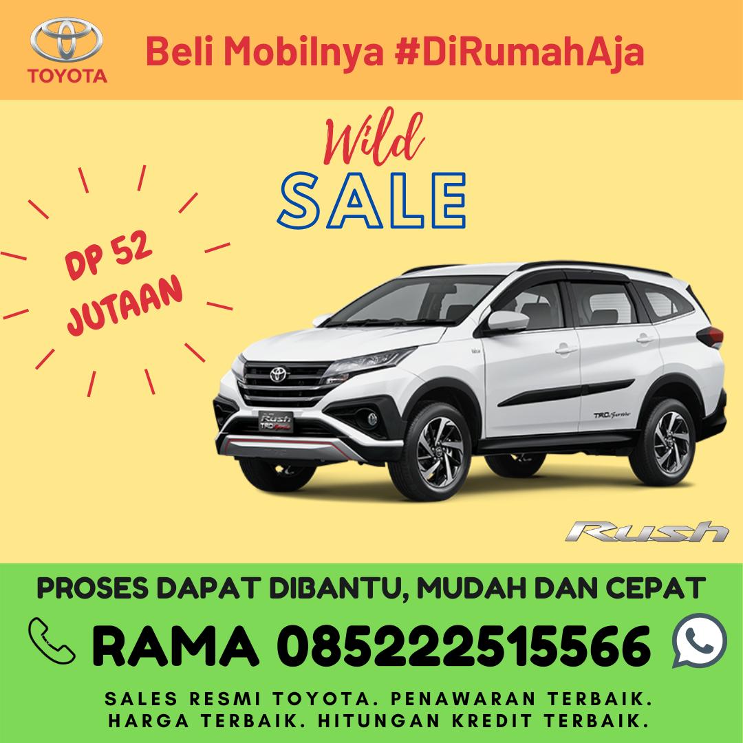 Promo Kredit dan Brosur Toyota Rush di Lampung Spesial Kartini Days Bulan April 2020