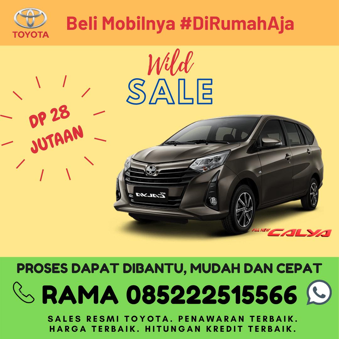 Promo Kredit dan Brosur Toyota New Calya di Lampung Spesial Kartini Days Bulan April 2020