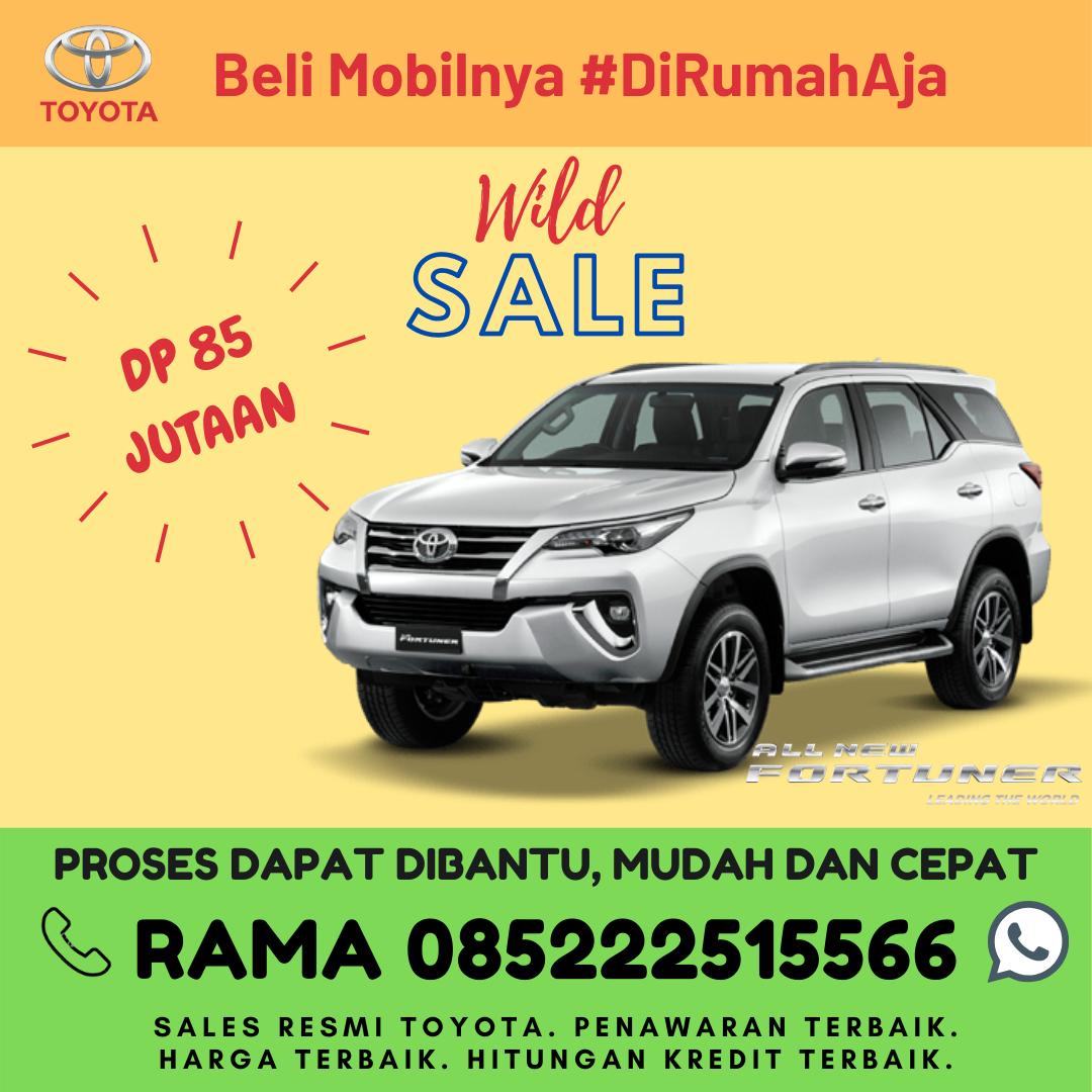 Promo Kredit dan Brosur Toyota New Fortuner di Lampung Spesial Kartini Days Bulan April 2020
