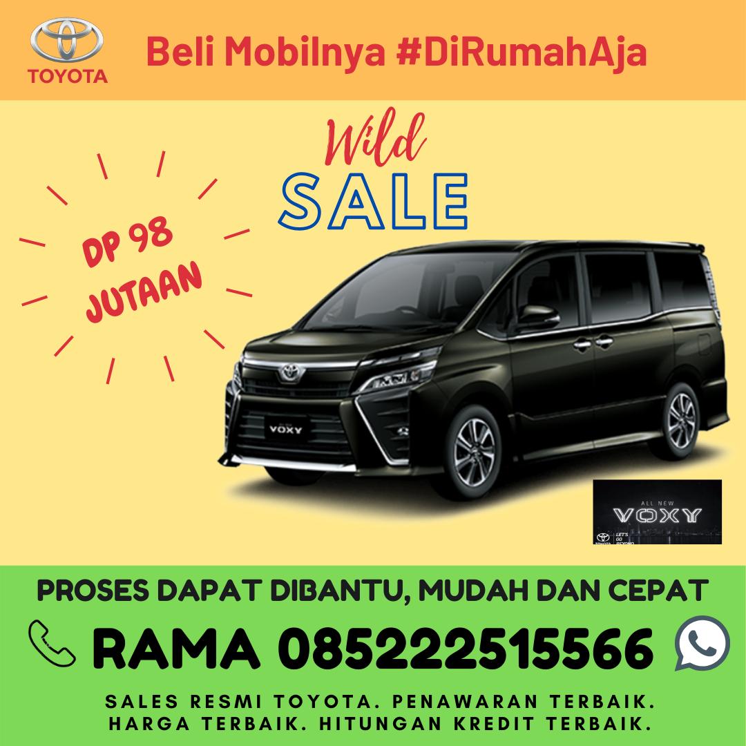 Promo Kredit dan Brosur Toyota All New Voxy di Lampung Spesial Kartini Days Bulan April 2020