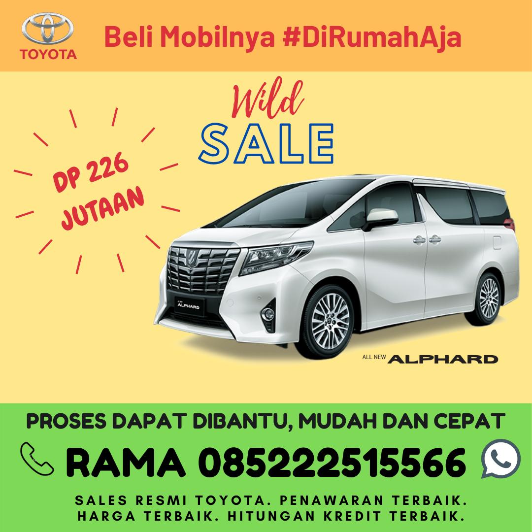 Promo Kredit dan Brosur Toyota New Alphard di Lampung Spesial Kartini Days Bulan April 2020