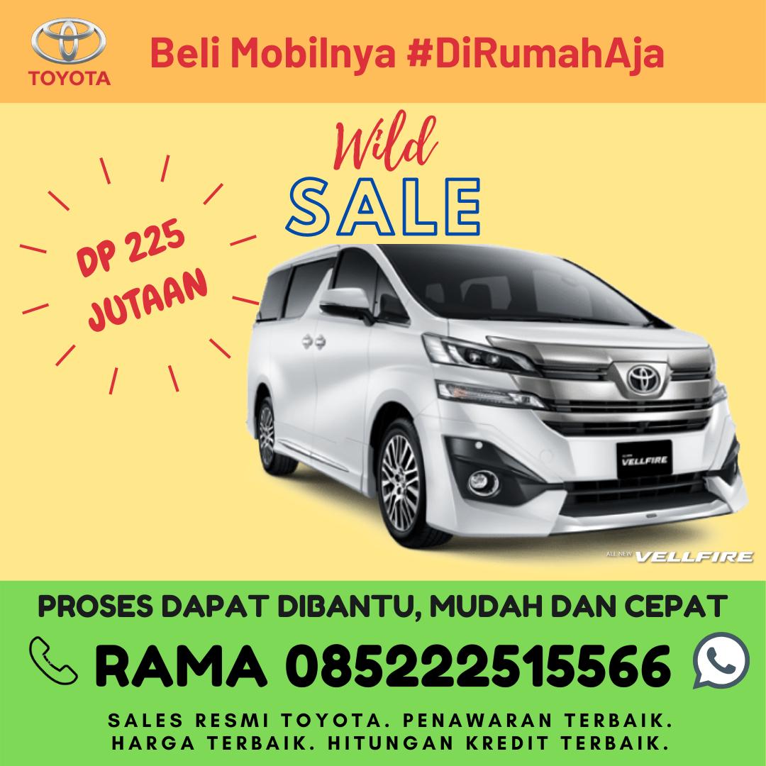 Promo Kredit dan Brosur Toyota New Vellfire di Lampung Spesial Kartini Days Bulan April 2020
