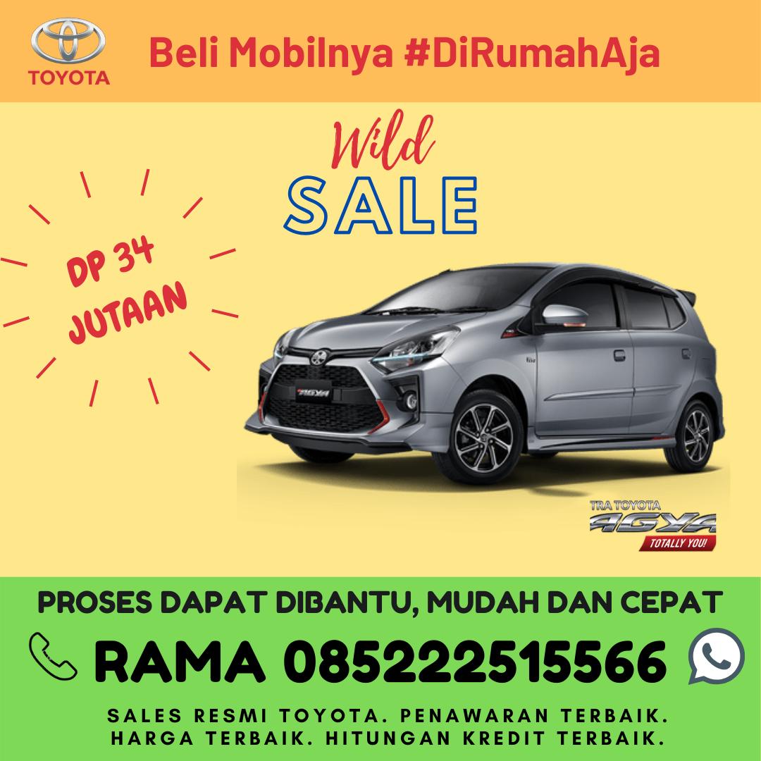 Promo Kredit dan Brosur Toyota New Agya di Lampung Spesial Kartini Days Bulan April 2020